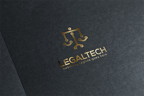 Legal Tech Logo Design