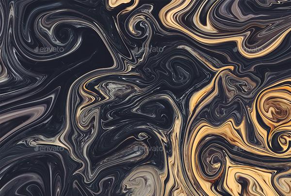 Liquid Textures Backgrounds