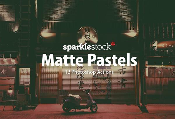 Matte Pastel Photoshop Actions