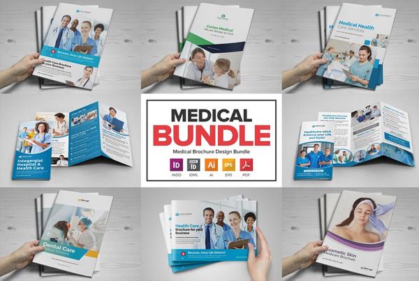 Medical Health Care Brochure Bundle