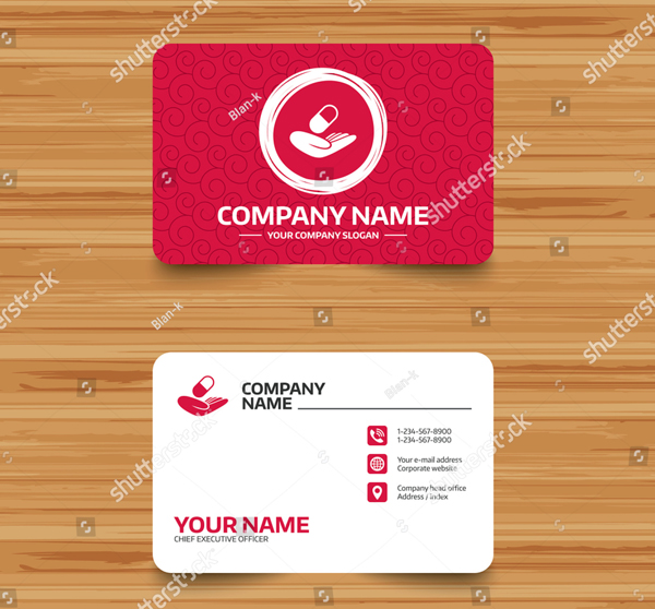 Medical Insurance Business Card Template
