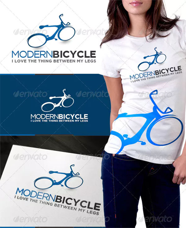 Modern Bicycle Logo
