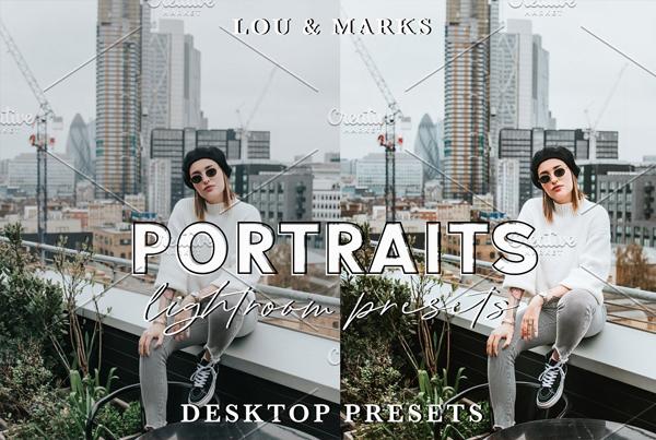 Modern Portraits Desktops and Mobiles