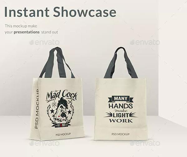 Modern Shopping Bags Mockup