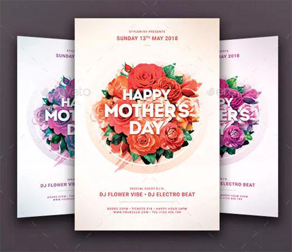 Mother's Day Celebration PSD Flyer