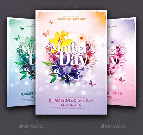 Mother's Day Colorful Flyer