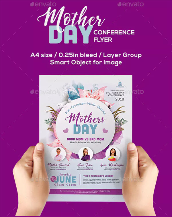 Mother's Day Conference Flyer