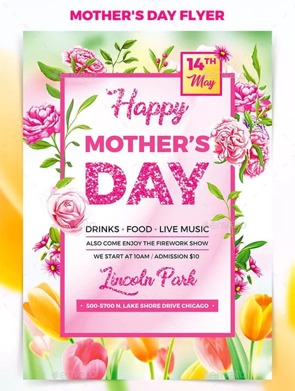 Mother's Day Festival Flyer