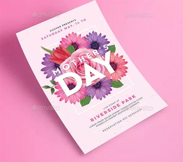 Mother's Day Print Flyer