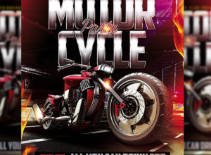 Motorcycle Flyer Templates