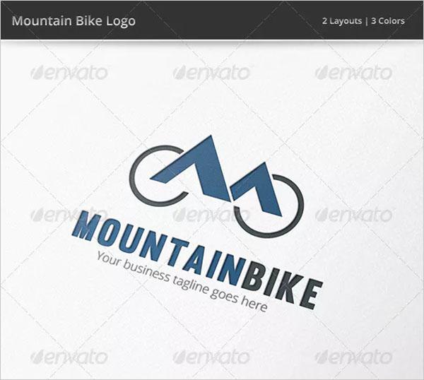 Mountain Bike Bicycle Logo