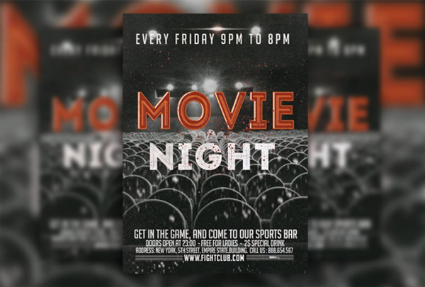 Movie Festival Flyer Design