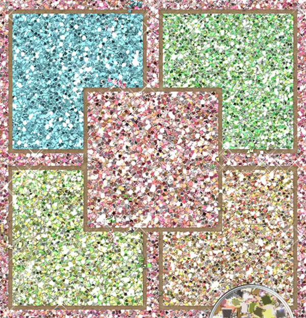 Multicolor Glitter Texture Pack