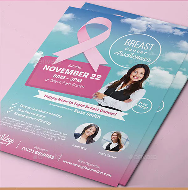 New Breast Cancer Awareness Flyer
