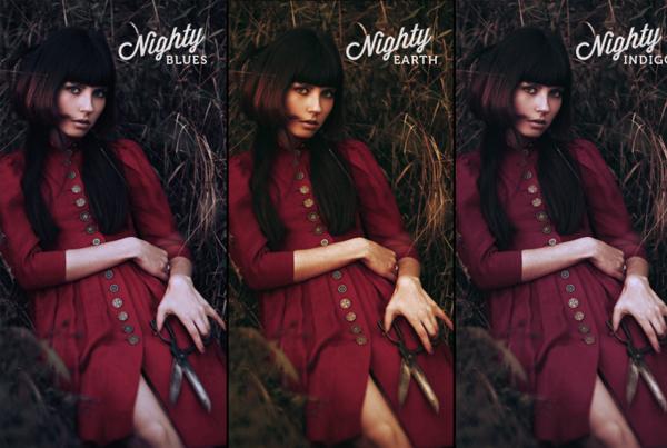 Nighty Portrait Photoshop Actions