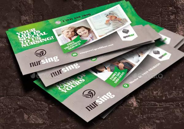 Nursing Home Business Card Templates