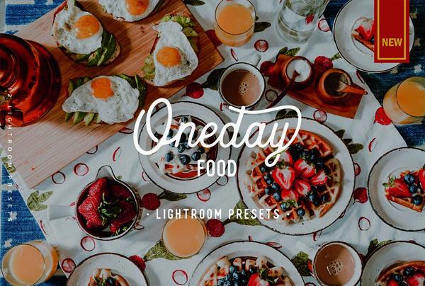 Oneday Food Lightroom Presets