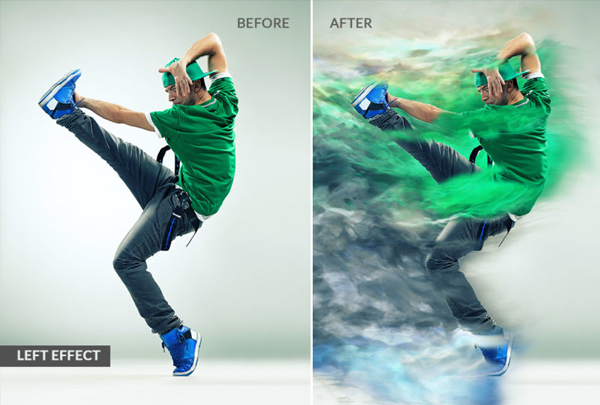 Over Power Photoshop Actions