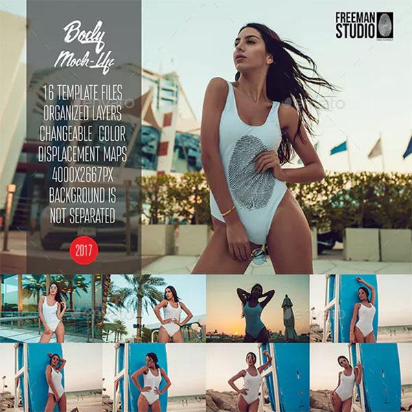 PSD Bodysuit Mock-Up
