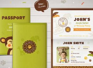 Passport Invitation Templates