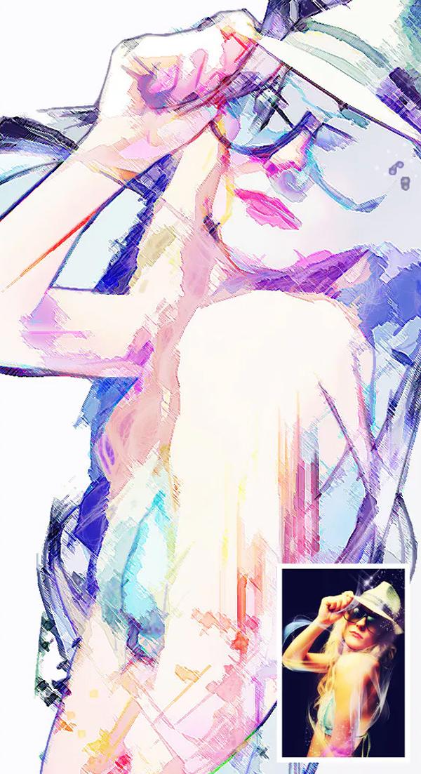 Photo Color Sketch Action