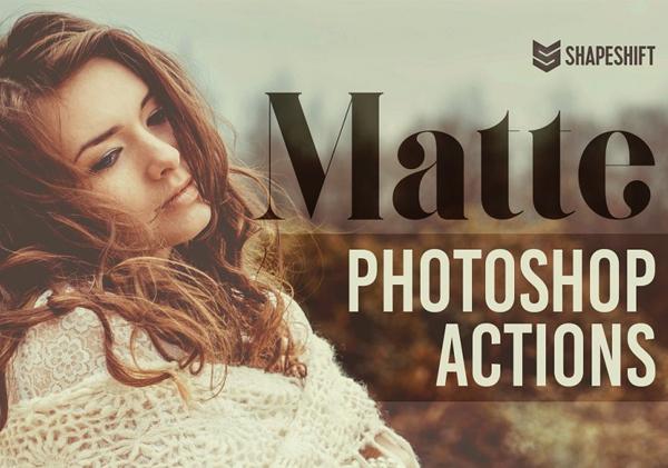 Photoshop Matte Premium Actions