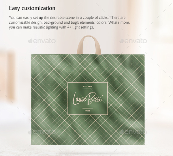 Plastic Shopping Bags Mockups