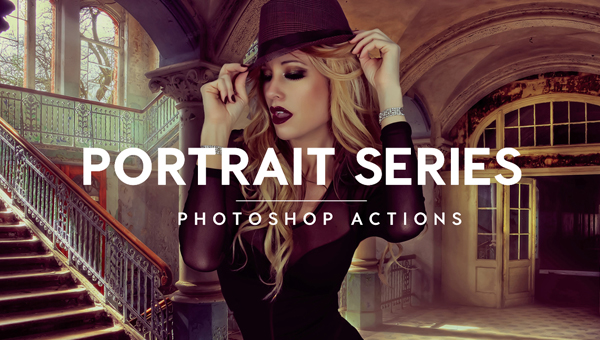 Portrait Photoshop Actions - Free & Premium PSD ATN ABN