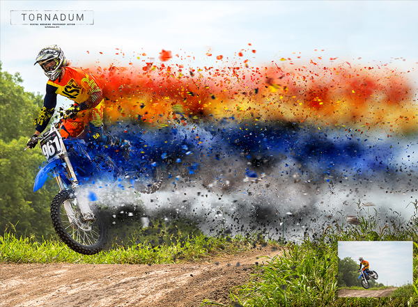 Powerful Dispersion Photoshop Action