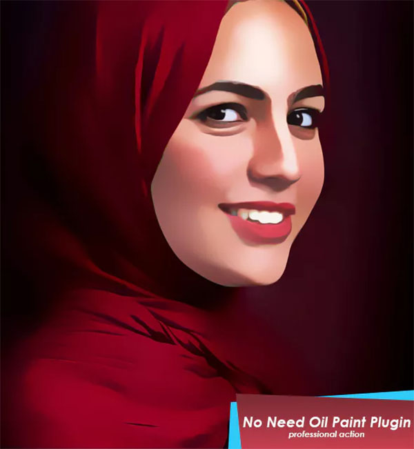 Print Vector Painting Photoshop Action