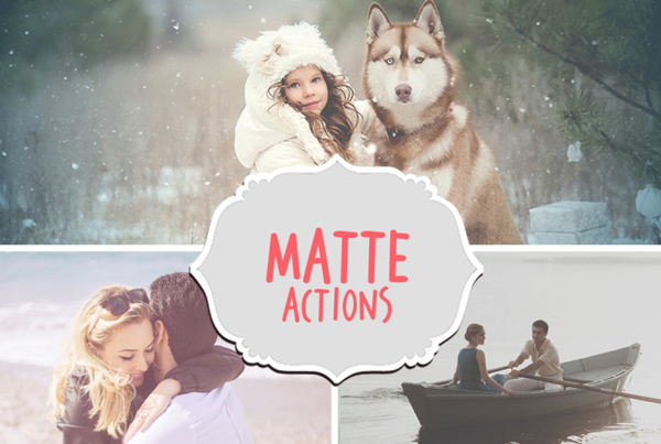 Professional Matte Actions for Photoshop