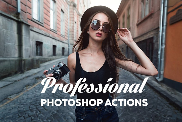 Professional Photoshop Power Actions