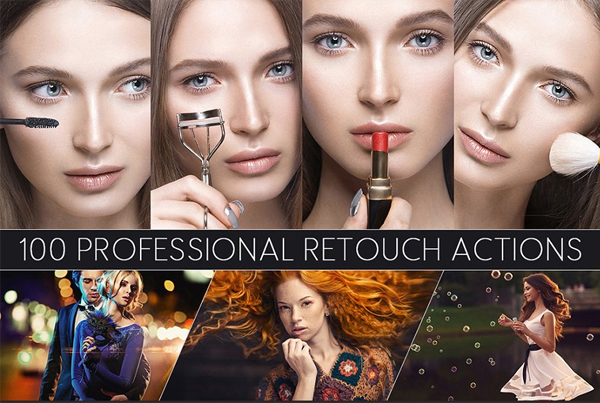 Professional Retouch Color Photo Actions