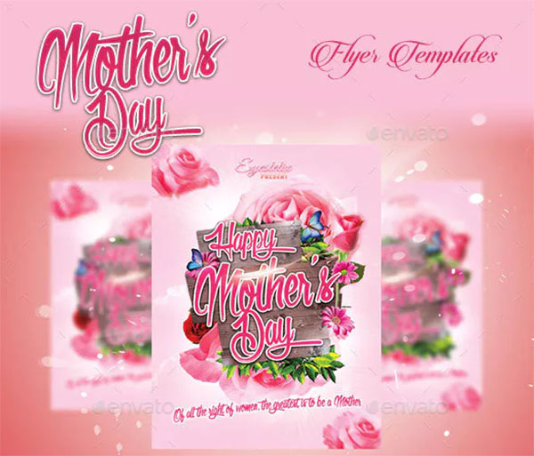 Roses Mother's Day Flyer