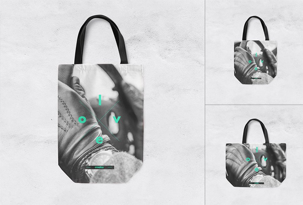 Shopper Canvas Bag Mockup Set