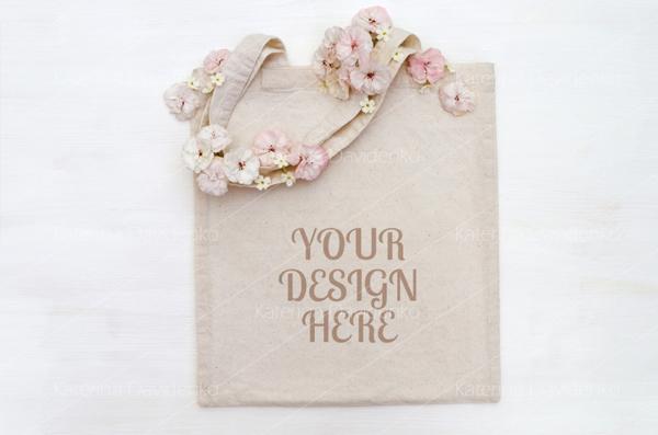 Shopping Bag, Tote Bag Mockup