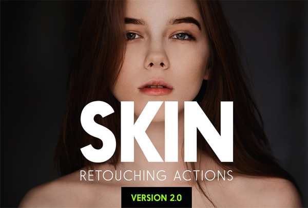 Skin Photo Retouching Actions