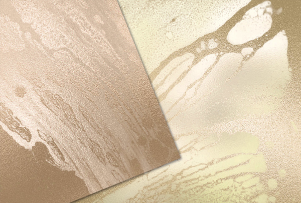 Soft Gold Liquid Paint Textures
