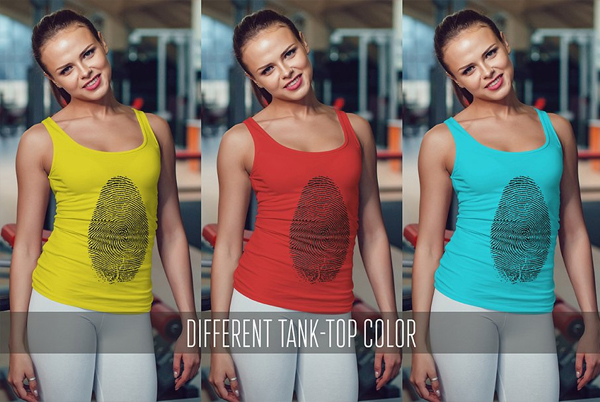 Sports Tank Top Mock-Up