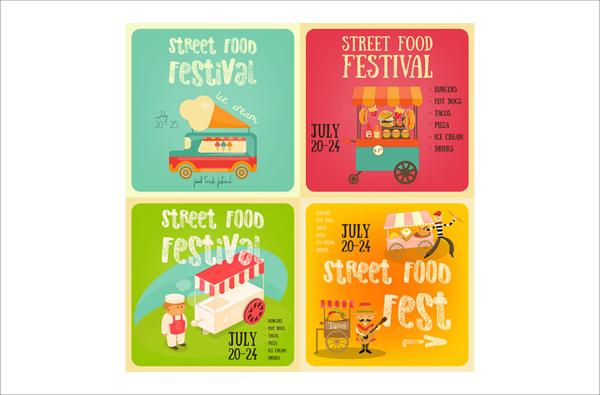 Street Food Festival Banner Templates