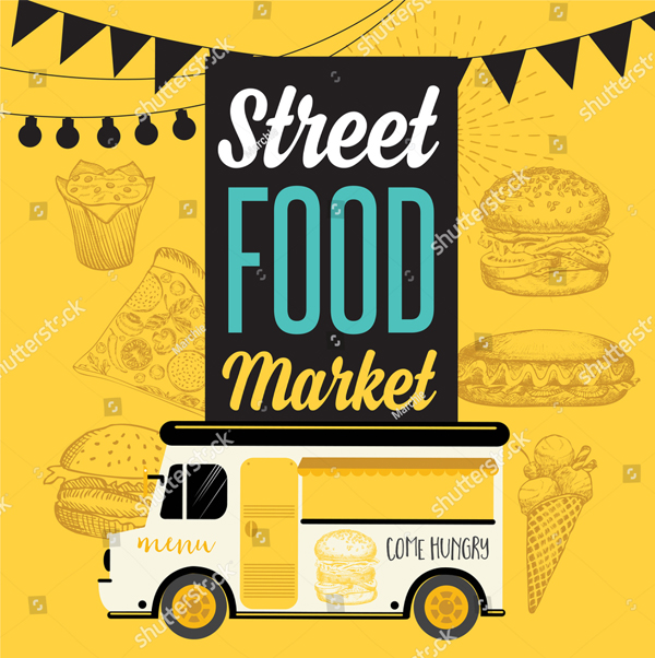 Street Food Festival Poster and Banner
