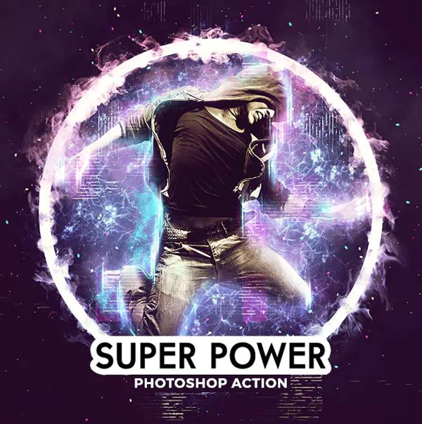 Super Power Photoshop Actions