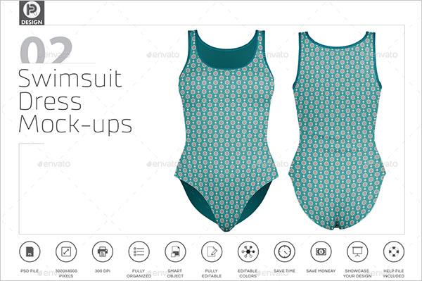 Swimsuit Dress Mockups
