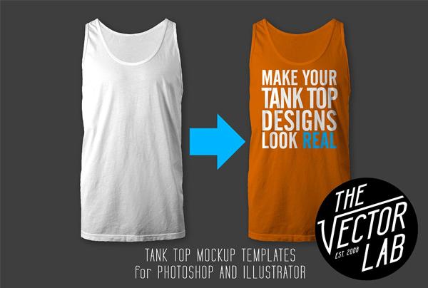 Tank Top Mockup Templates