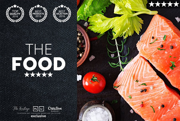 The Food Photoshop Actions
