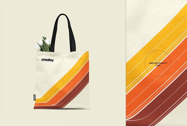 Tote Shopping Bag Mockup Set