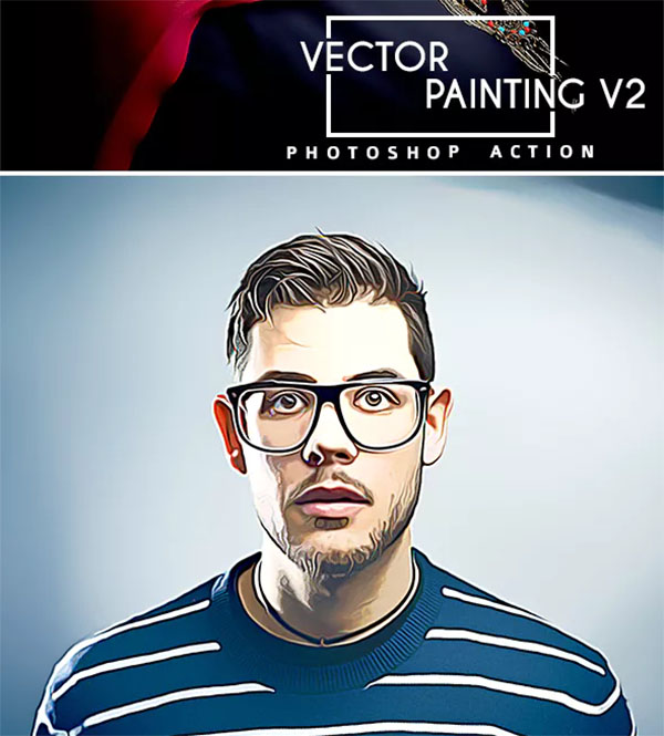 Vector Painting V2 Photoshop Action