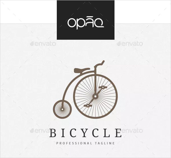 Vintage Bicycle Logo Template
