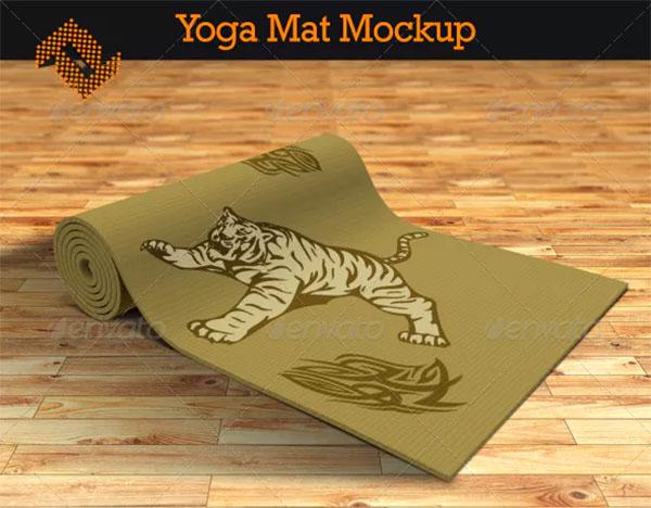 Yoga Mat Mockup