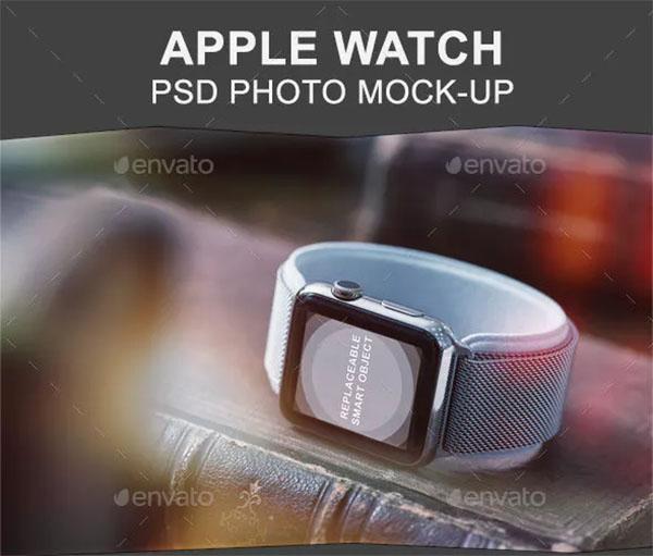 42mm Smart Watch Mock-up